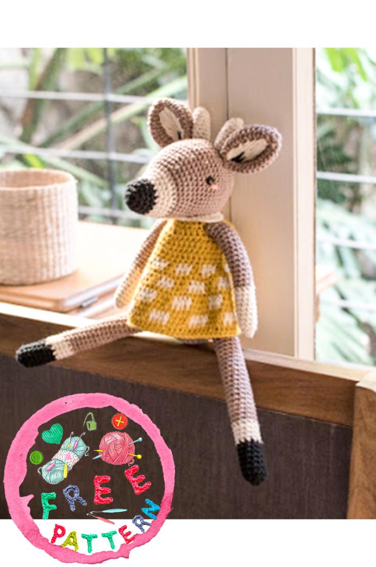 Ravelry: Little Deer Toy pattern by Maki Oomachi | 1106x735