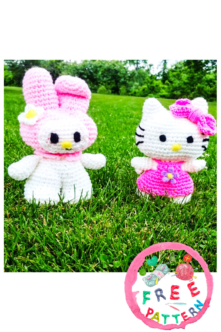 Hello Kitty Crochet: Supercute Amigurumi Patterns for Sanrio ... | 1106x735