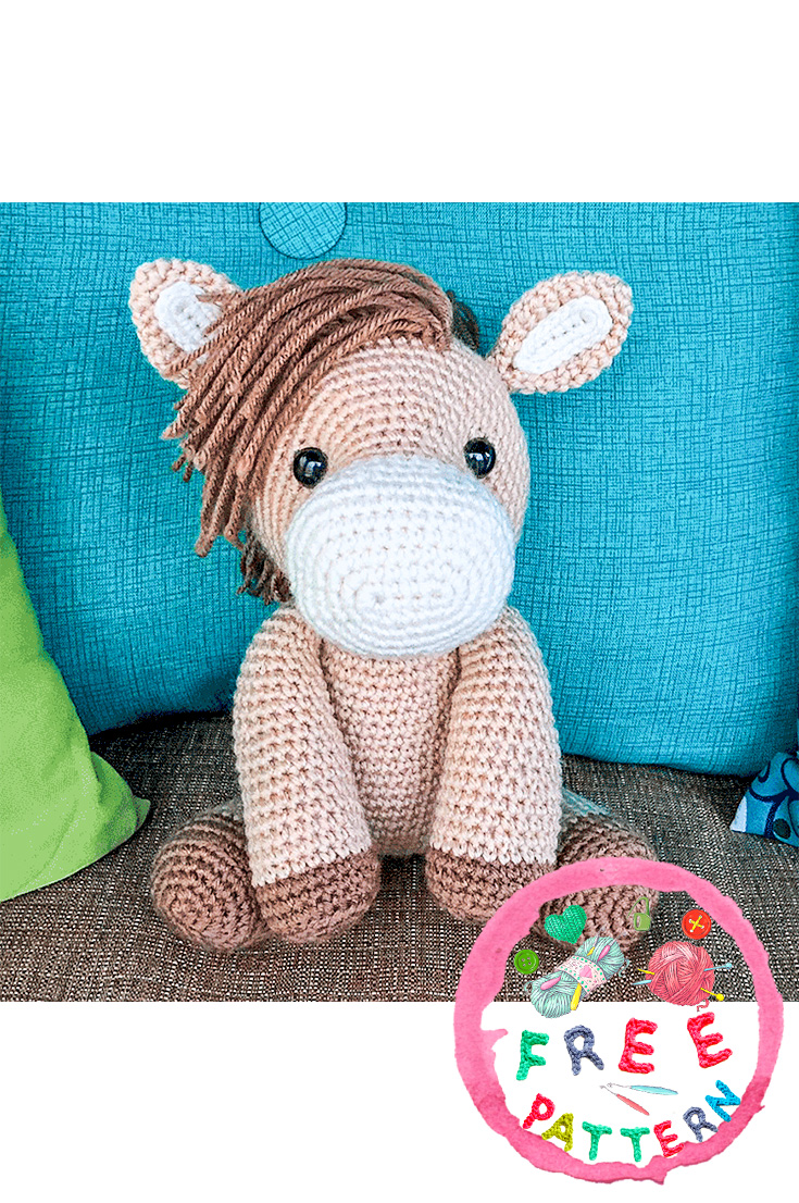 Amigurumi Crochet Horse Patterns – FREE AMİGURUMİ CROCHET | 1106x735