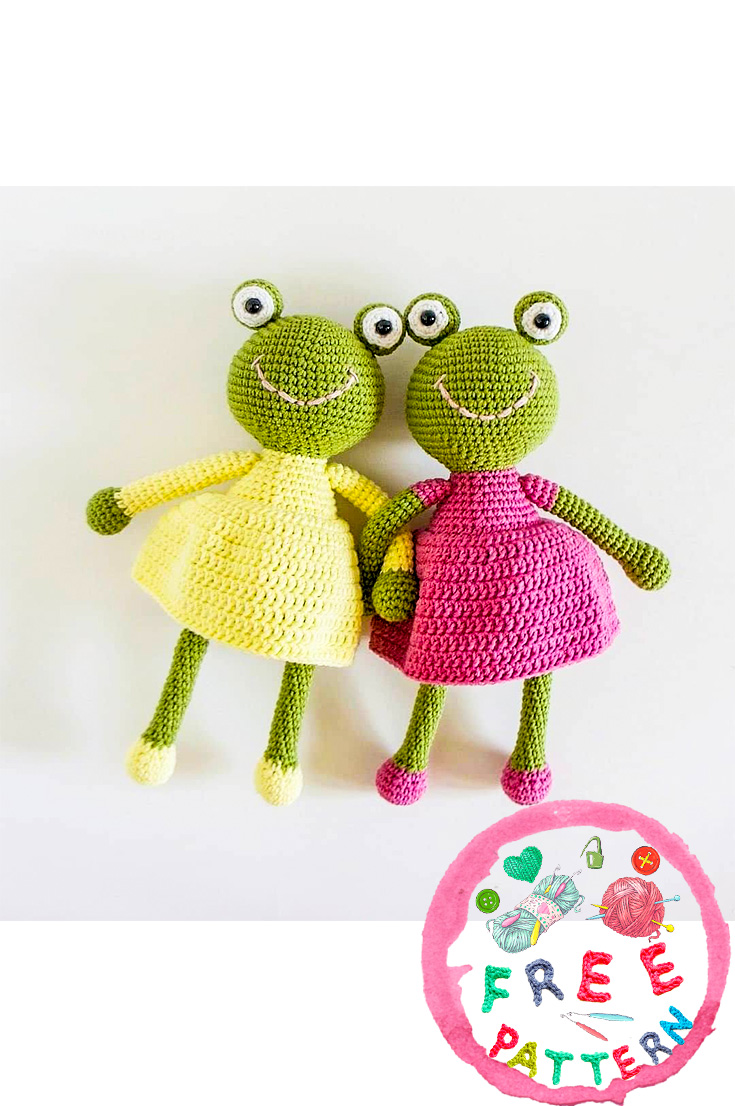 Don't Frog that Frog: 10 Free Crochet Frog Patterns! - moogly   1106x735