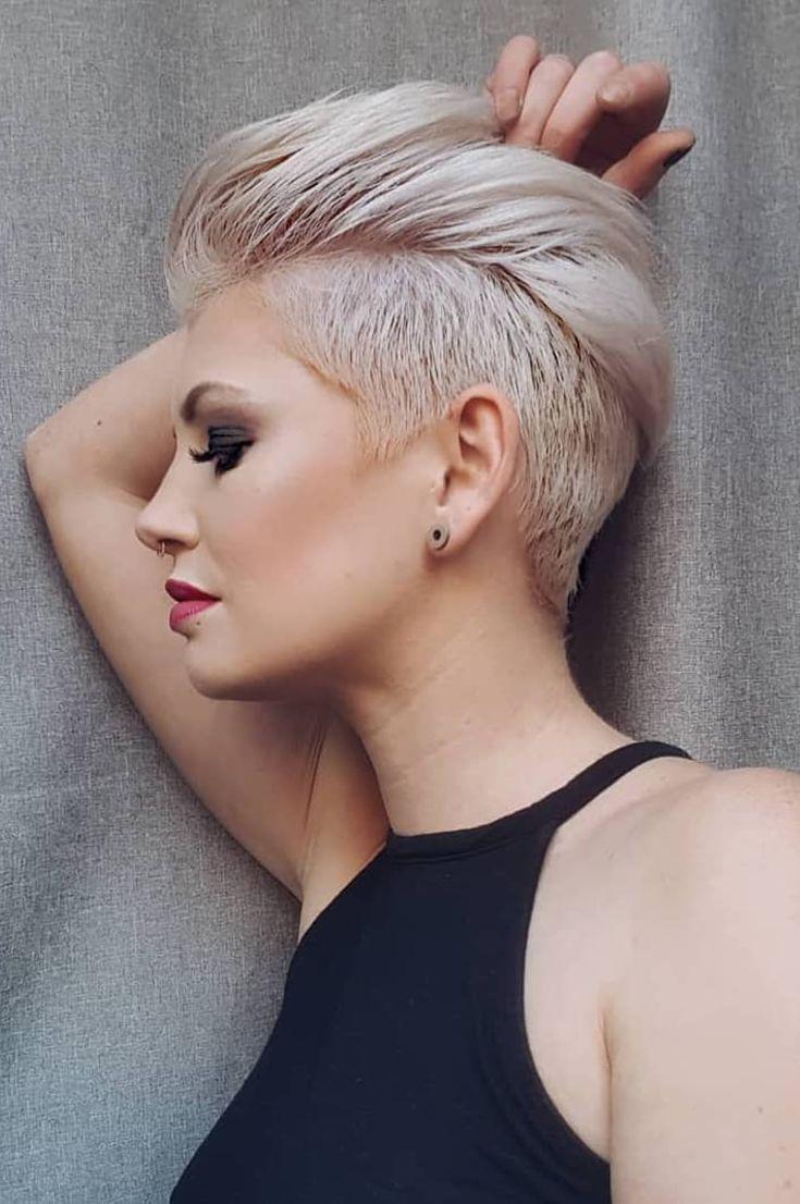 women's short hair style- 44 new styles gorgeous blunt bob