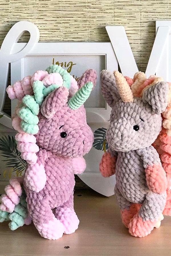 unicorn toy,Amigurumi Unicorn Pattern