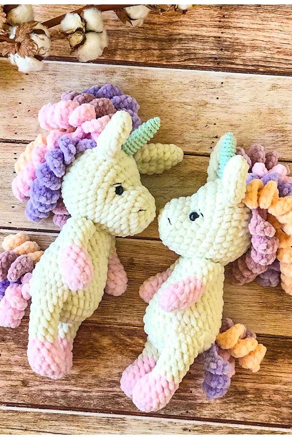 Amigurumi Unicorn Pattern, unicorn toy